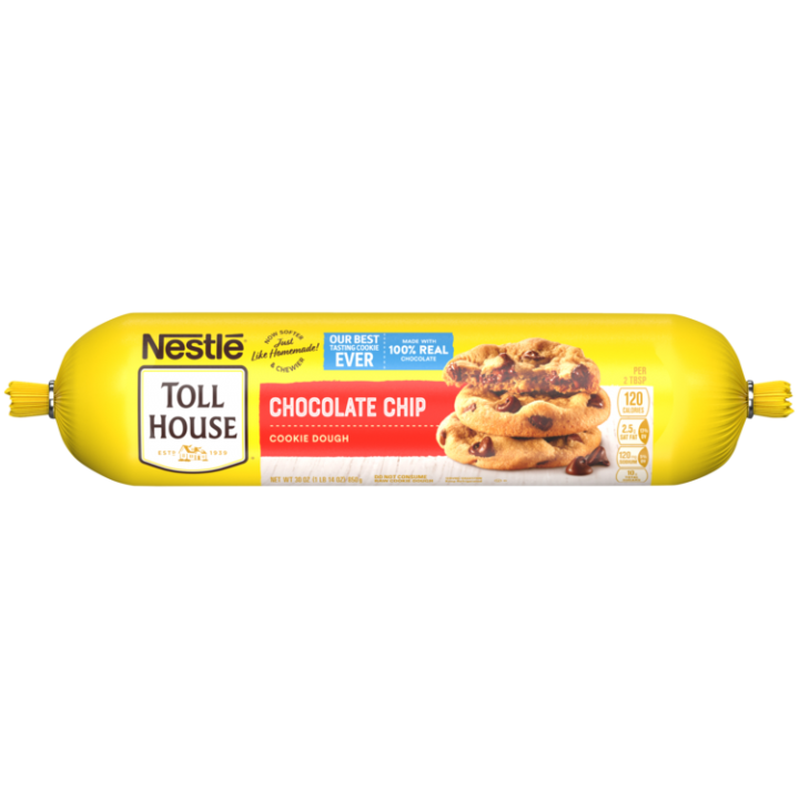 Refrigerated Chocolate Chip Cookie Dough 30 oz | NESTLÉ® TOLL HOUSE®