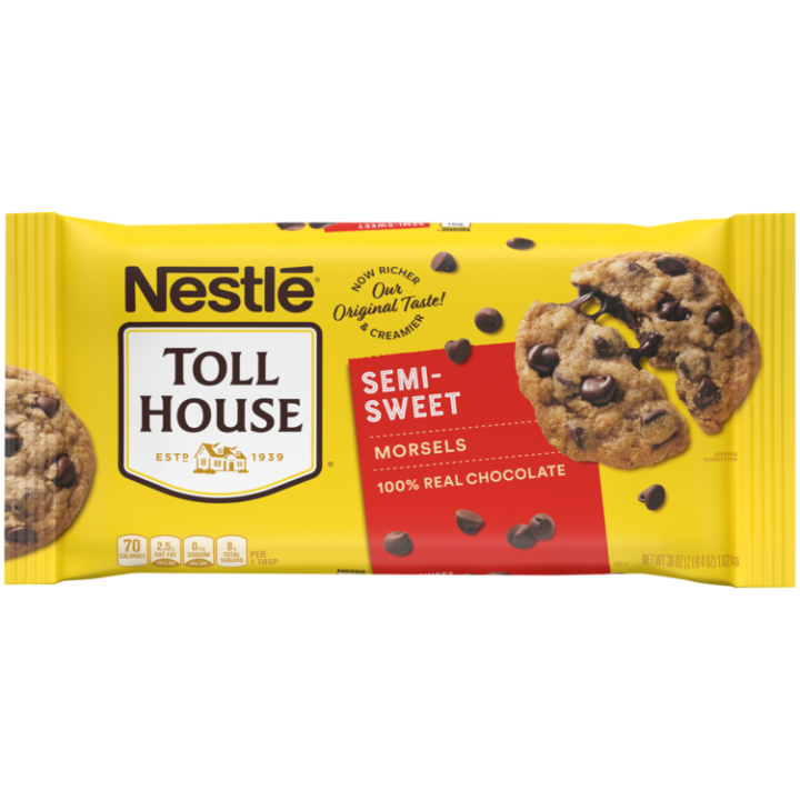 Semi-Sweet Chocolate Morsels 36 oz | NESTLÉ® TOLL HOUSE®