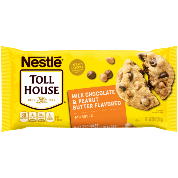 Milk Chocolate & Peanut Butter Flavored Morsels | NESTLÉ® TOLL HOUSE®