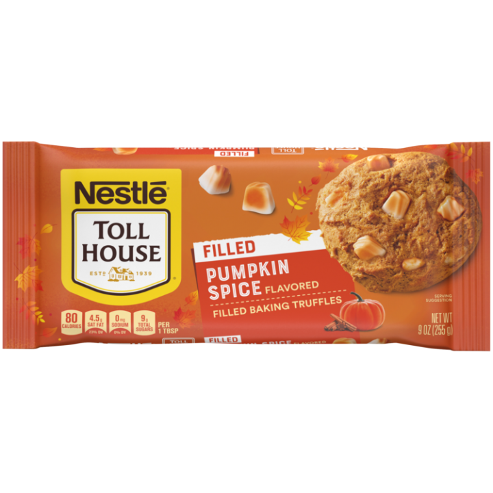 Pumpkin Spice Flavored Filled Baking Truffles | NESTLÉ® TOLL HOUSE®