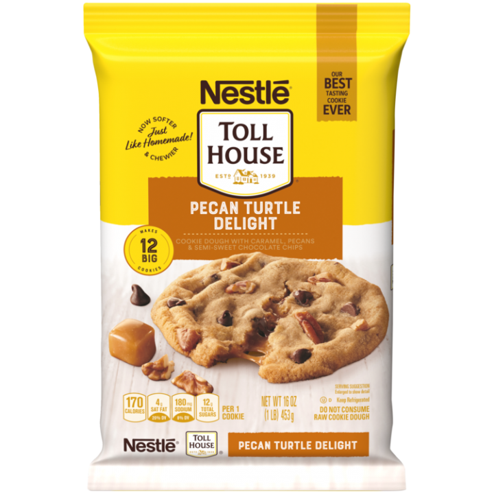Pecan Turtle Delight Cookie Dough Break Aparts Nestle Toll House