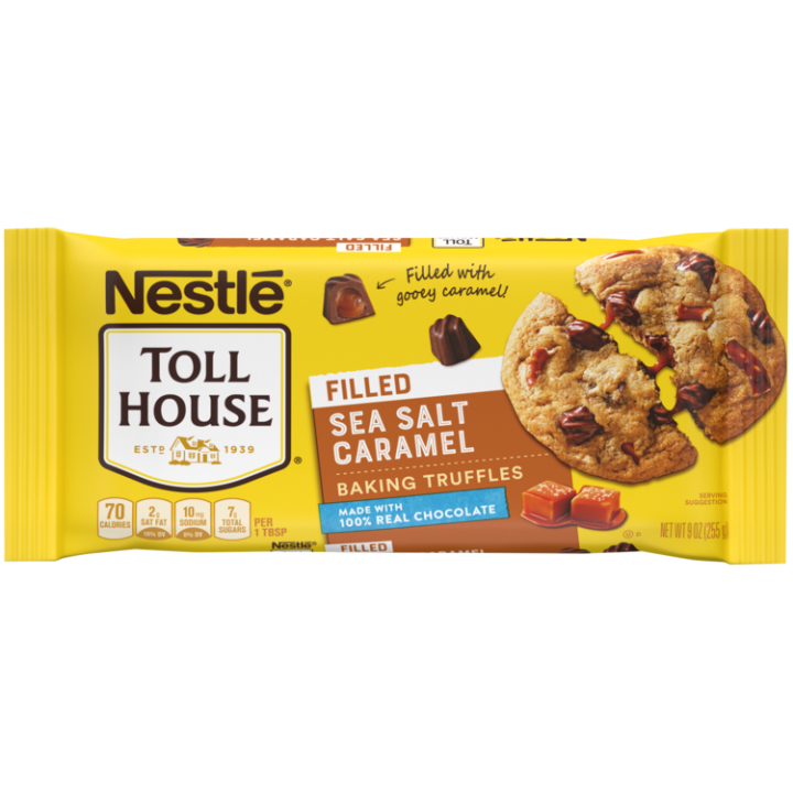 Sea Salt Caramel Filled Baking Truffles | NESTLÉ® TOLL HOUSE®