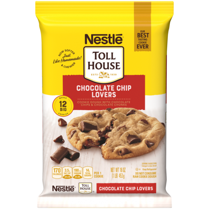 Chocolate Chip Lovers Cookie Dough Break Aparts | NESTLÉ® TOLL HOUSE®