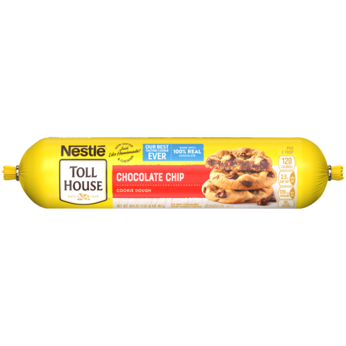 Refrigerated Chocolate Chip Cookie Dough | NESTLÉ® TOLL HOUSE®