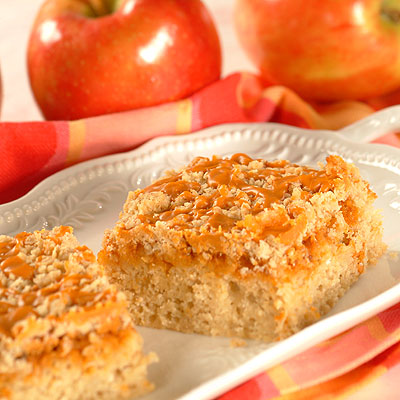 Apple-Scotch Snack Cake