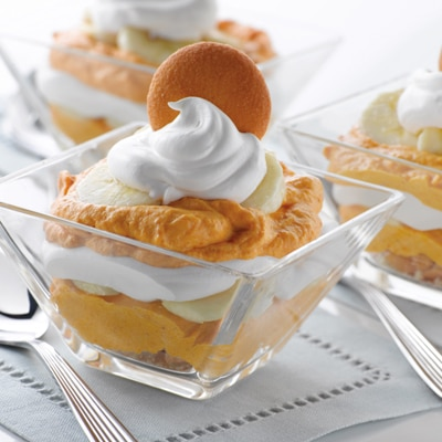 Bananas about Pumpkin Pudding