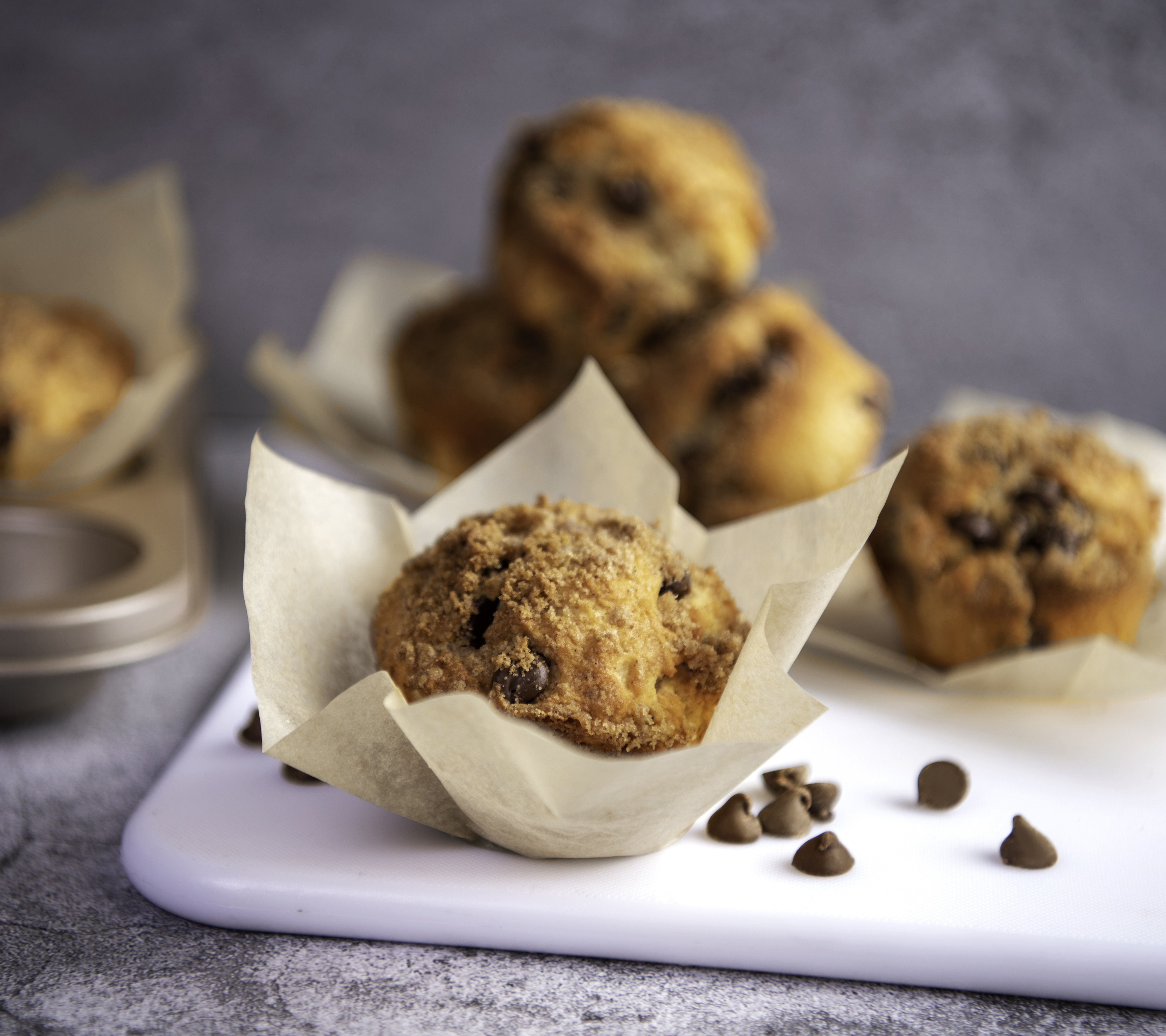 Chocolate Coffee Cake Muffins