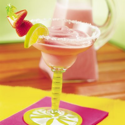 Frosty Strawberry Margaritas
