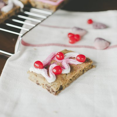 Chocolate Chip Valentine Cookie Cards
