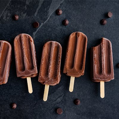 Dark Chocolate Fudgesicles