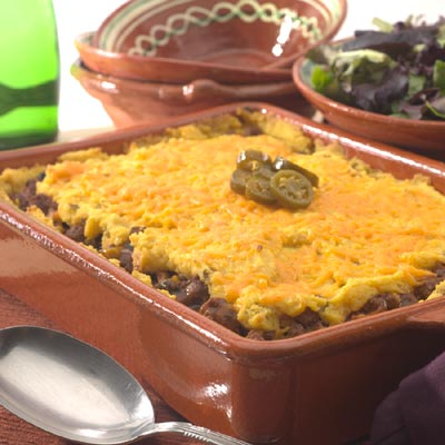 Rich and Zesty Tamale Pie